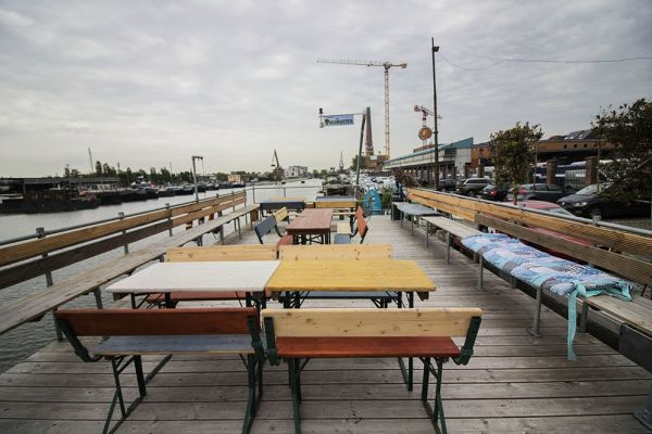 Picture of an event venue rental in Gand, East Flanders, Inside Jo & Ingrid's houseboat 8619