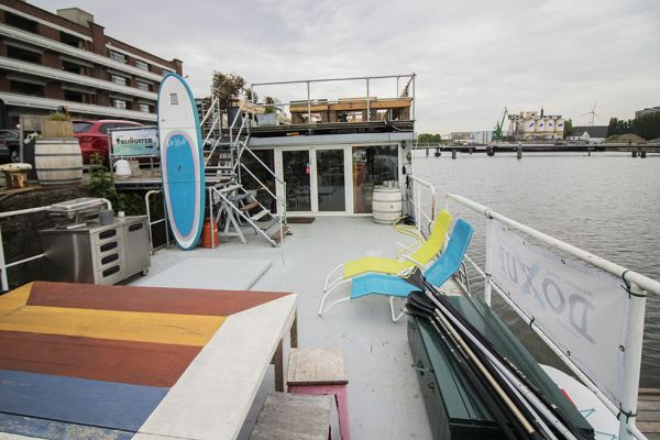 Picture of an event venue rental in Gand, East Flanders, Inside Jo & Ingrid's houseboat 8620