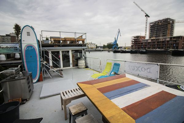 Picture of an event venue rental in Gand, East Flanders, Inside Jo & Ingrid's houseboat 8621