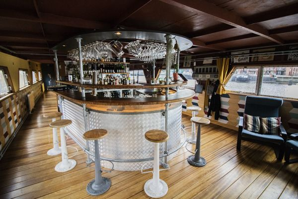 Picture of an event venue rental in Gand, East Flanders, Inside Jo & Ingrid's houseboat 8622