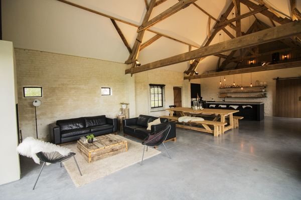 Picture of an event venue rental in Ingelmunster, West Flanders, Inside Evelien's barn 8698