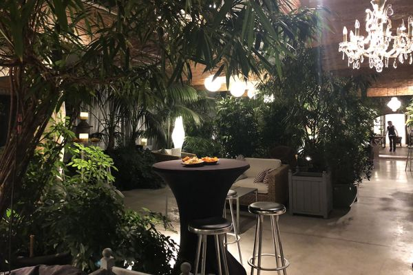 Picture of an event venue rental in Turnhout, Antwerp, Inside Eric & Ina's greenhouse 13838