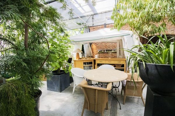 Picture of an event venue rental in Turnhout, Antwerp, Inside Eric & Ina's greenhouse 9276