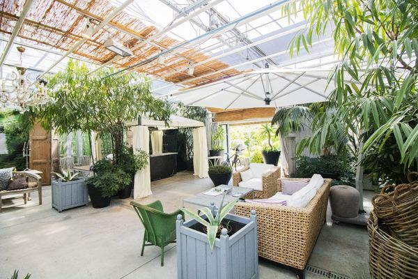 Picture of an event venue rental in Turnhout, Antwerp, Inside Eric & Ina's greenhouse 9278
