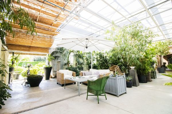 Picture of an event venue rental in Turnhout, Antwerp, Inside Eric & Ina's greenhouse 9280