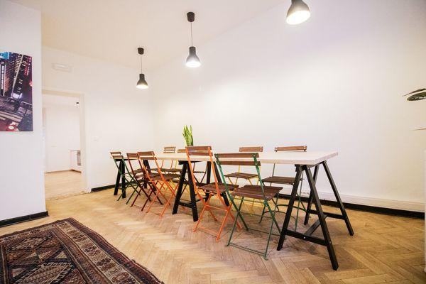 Photo d'une salle à louer à Elsene, Bruxelles, Dans l'atelier de Lou 9379