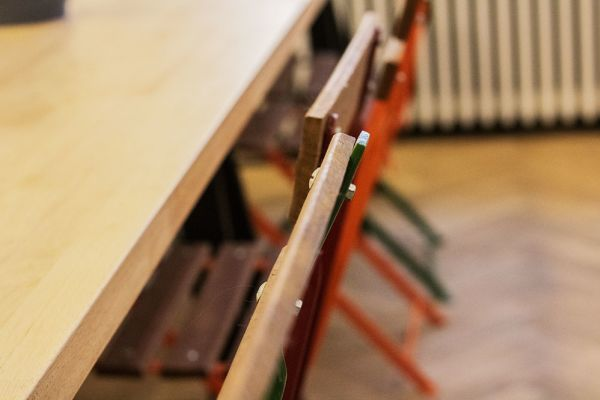 Photo d'une salle à louer à Elsene, Bruxelles, Dans l'atelier de Lou 9395