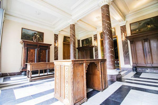 Photo d'une salle à louer à Heestert, Flandre Occidentale, Dans le château de Donny 9511