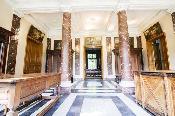 Photo d'une salle à louer à Heestert, Flandre Occidentale, Dans le château de Donny 9512