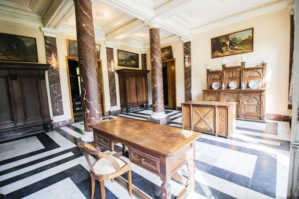 Photo d'une salle à louer à Heestert, Flandre Occidentale, Dans le château de Donny 9513