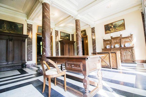 Photo d'une salle à louer à Heestert, Flandre Occidentale, Dans le château de Donny 9514