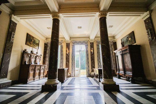 Photo d'une salle à louer à Heestert, Flandre Occidentale, Dans le château de Donny 9516
