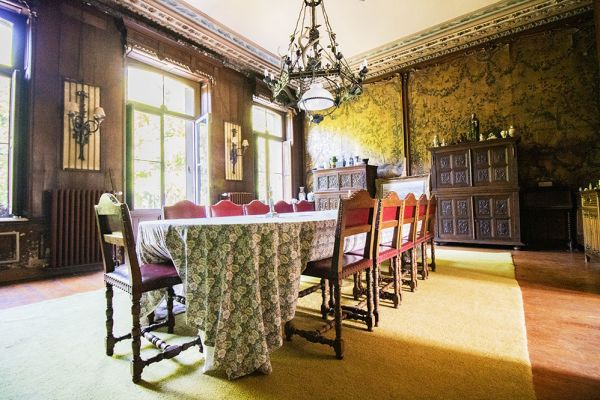 Photo d'une salle à louer à Heestert, Flandre Occidentale, Dans le château de Donny 9517