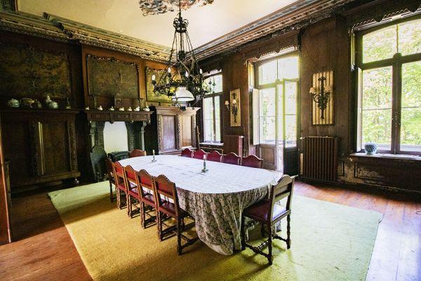 Photo d'une salle à louer à Heestert, Flandre Occidentale, Dans le château de Donny 9519