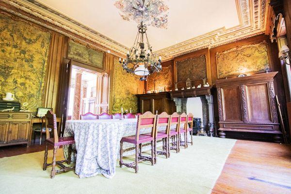Photo d'une salle à louer à Heestert, Flandre Occidentale, Dans le château de Donny 9521