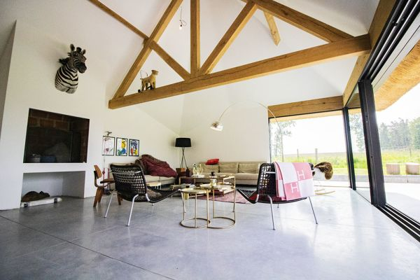 Picture of an event venue rental in Bottelare, East Flanders, Inside Amandine's house 9650