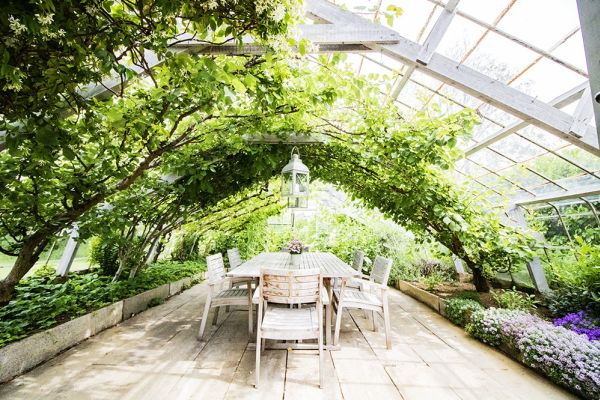 Picture of an event venue rental in Overijse, Flemish Brabant, Inside Béatrice & Christian's greenhouse 9751