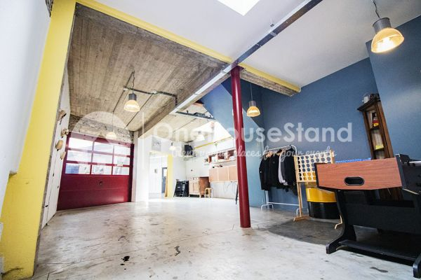 Picture of an event venue rental in Schaarbeek, Brussels, Inside Youmat's warehouse 10505