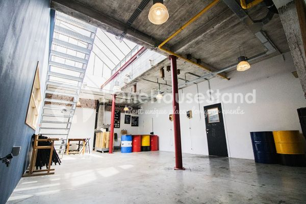 Picture of an event venue rental in Schaarbeek, Brussels, Inside Youmat's warehouse 10517