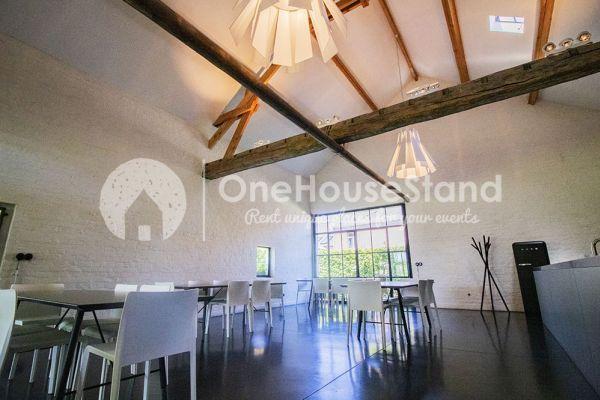 Picture of an event venue rental in Wambeek, Flemish Brabant, Inside Patricia's house and barn 10809