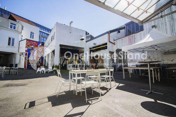 Photo d'une salle à louer à Molenbeek-Saint-Jean, Bruxelles, Dans l'entrepôt de Pierre - Salle 1 + Salle 2 + Le bar 10999