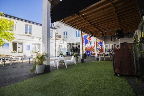 Photo d'une salle à louer à Molenbeek-Saint-Jean, Bruxelles, Dans l'entrepôt de Pierre - Salle 1 + Salle 2 + Le bar 11007