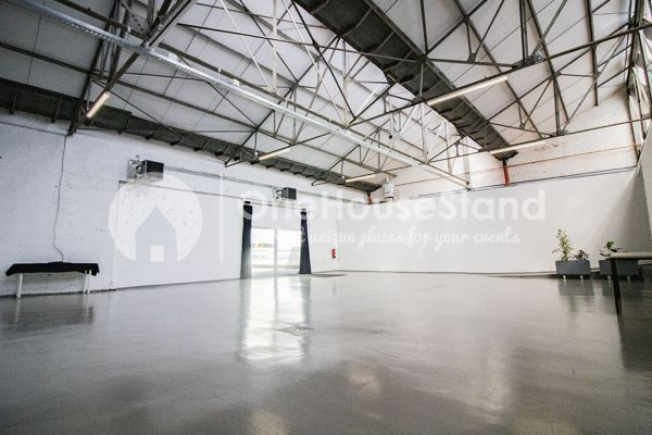Picture of an event venue rental in Molenbeek-Saint-Jean, Brussels, Inside Pierre's warehouse - Room 1 + Room 2 + The bar 11020