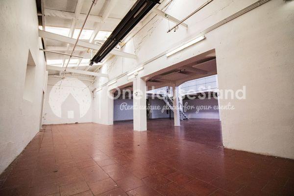 Picture of an event venue rental in Molenbeek-Saint-Jean, Brussels, Inside Pierre's warehouse - Room 3 + Room 4 11045