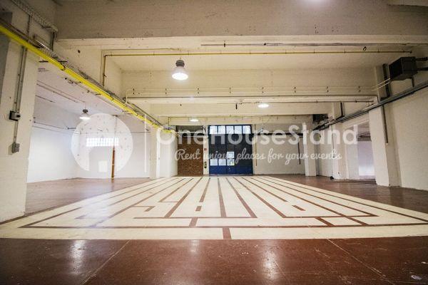 Picture of an event venue rental in Molenbeek-Saint-Jean, Brussels, Inside Pierre's warehouse - Room 3 + Room 4 11054