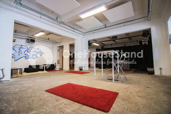 Photo d'une salle à louer à Molenbeek-Saint-Jean, Bruxelles, Dans l'entrepôt de Pierre - Salle 3 + Salle 4 + Le bar 11104