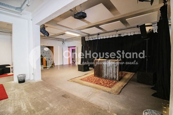 Picture of an event venue rental in Molenbeek-Saint-Jean, Brussels, Inside Pierre's warehouse - Room 3 + Room 4 + The bar 11109