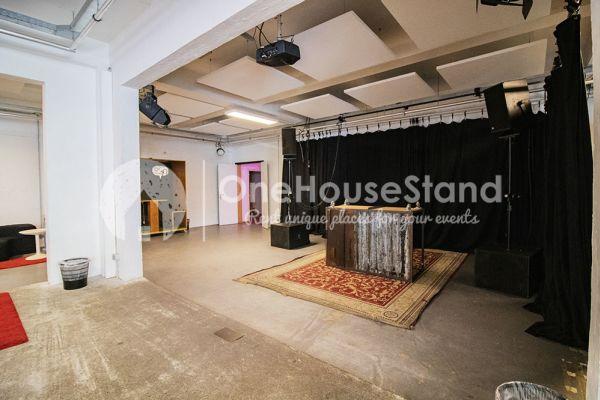 Photo d'une salle à louer à Molenbeek-Saint-Jean, Bruxelles, Dans l'entrepôt de Pierre - Salle 3 + Salle 4 + Le bar 11109