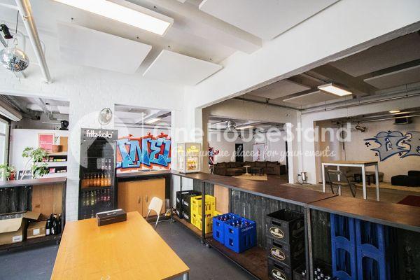 Photo d'une salle à louer à Molenbeek-Saint-Jean, Bruxelles, Dans l'entrepôt de Pierre - Salle 3 + Salle 4 + Le bar 11110