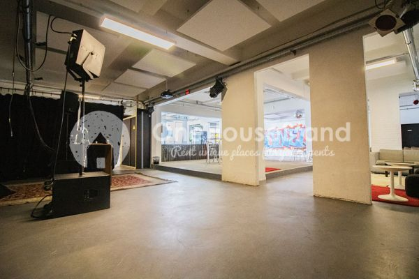 Picture of an event venue rental in Molenbeek-Saint-Jean, Brussels, Inside Pierre's warehouse - Room 3 + Room 4 + The bar 11111