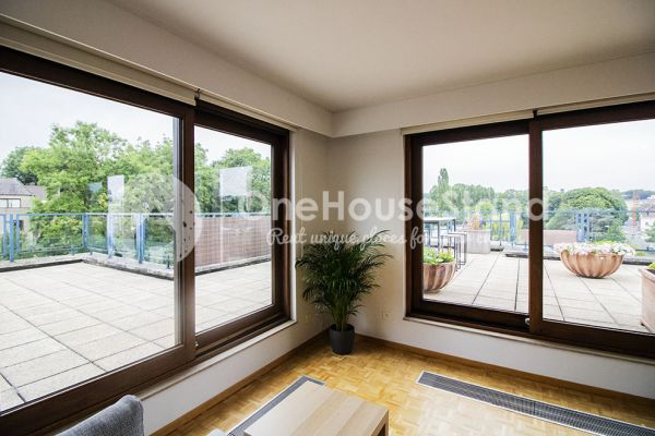 Picture of an event venue rental in Elsene, Brussels, Inside Jess & Sebastien's penthouse 11319