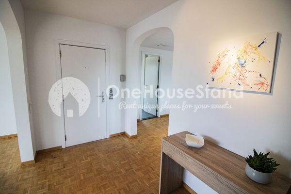 Picture of an event venue rental in Elsene, Brussels, Inside Jess & Sebastien's penthouse 11322