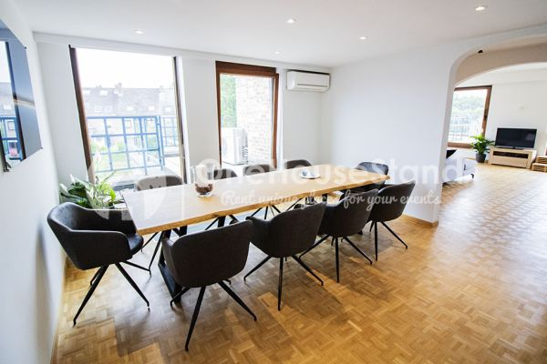 Picture of an event venue rental in Elsene, Brussels, Inside Jess & Sebastien's penthouse 11327