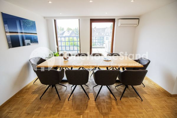 Picture of an event venue rental in Elsene, Brussels, Inside Jess & Sebastien's penthouse 11328