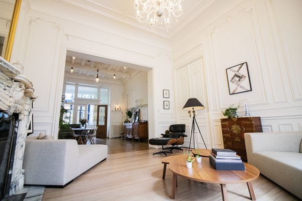 Photo d'une salle à louer à Brussel, Bruxelles, Dans la maison de Mia 11666