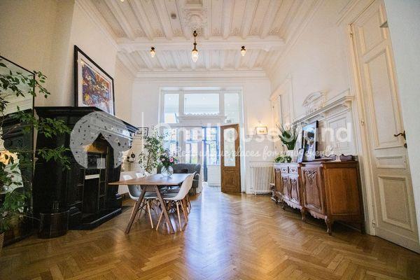 Photo d'une salle à louer à Brussel, Bruxelles, Dans la maison de Mia 11671