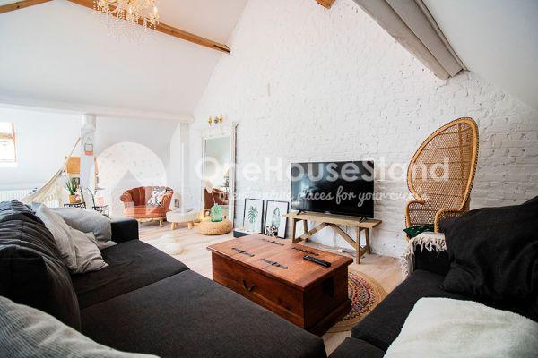 Photo d'une salle à louer à Affligem, Brabant Flamand, Dans le loft de Laura 11875