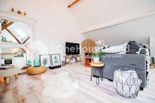 Photo d'une salle à louer à Affligem, Brabant Flamand, Dans le loft de Laura 11878