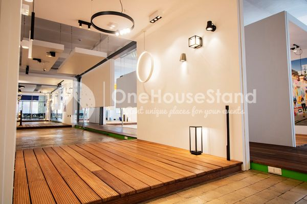 Picture of an event venue rental in Anderlecht, Brussels, Inside Maxime's showroom 12122