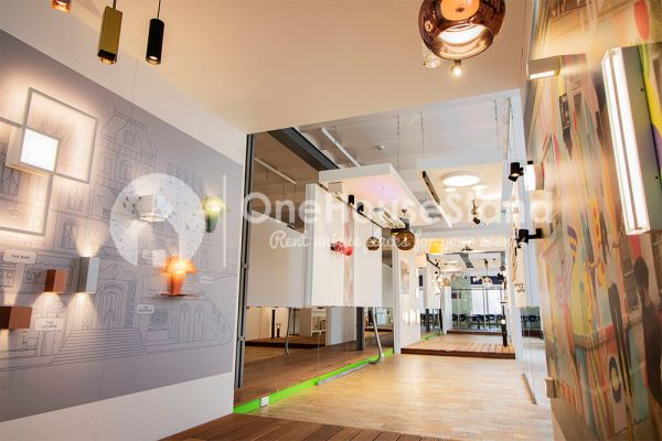 Picture of an event venue rental in Anderlecht, Brussels, Inside Maxime's showroom 12130