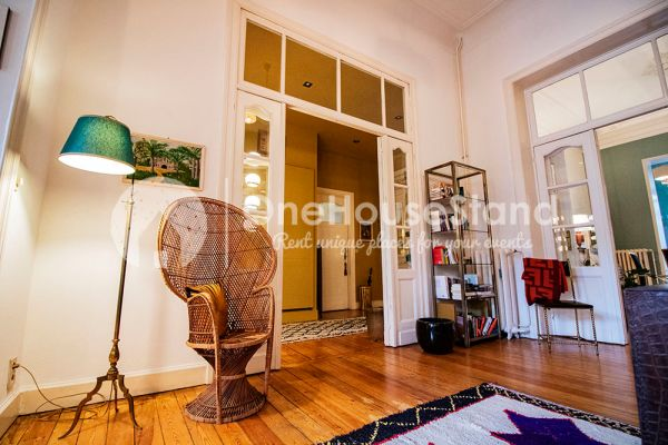 Picture of an event venue rental in Brussel, Brussels, Inside Zoi's apartment 12219