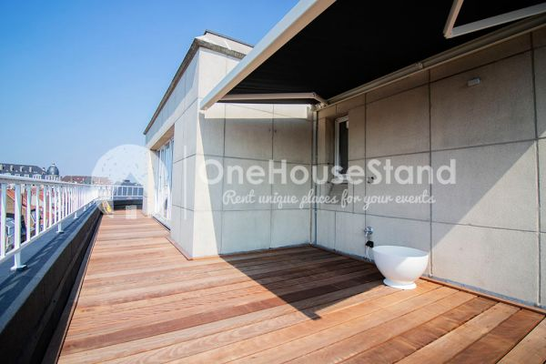 Picture of an event venue rental in Elsene, Brussels, Inside Julien's penthouse 12452