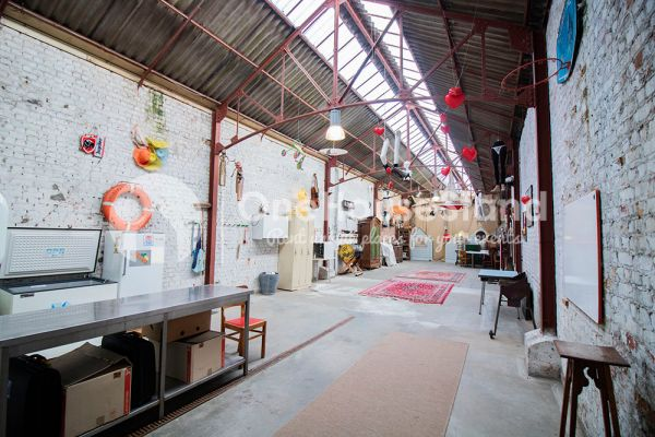 Picture of an event venue rental in Ostende, West Flanders, Inside Tillo's workshop 12551