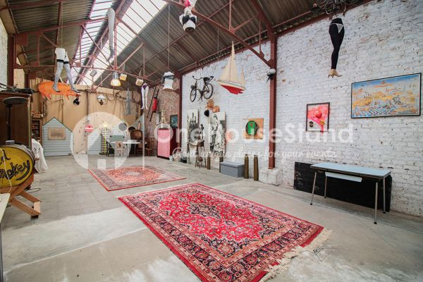Picture of an event venue rental in Ostende, West Flanders, Inside Tillo's workshop 12555