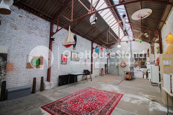 Picture of an event venue rental in Ostende, West Flanders, Inside Tillo's workshop 12559