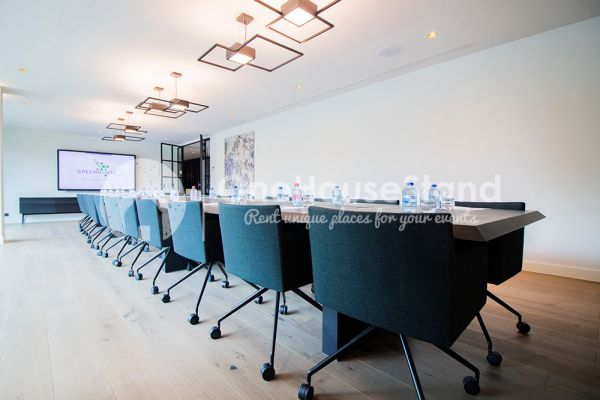 Picture of an event venue rental in Berchem(Antwerp), Antwerp, Inside the Boardroom & Lounge Greenhouse Antwerp 12692